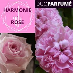 """Duo Parfumé_ """"Harmonie-Rose"""""""